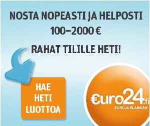 Euro24 kokemuksia ja arvosteluja